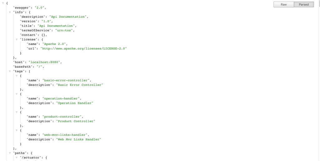 Swagger 2 with REST API